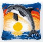 Дельфин Набор для вышивания подушки VERVACO