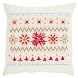 Скандинавские звезды Набор для вышивания подушки VERVACO