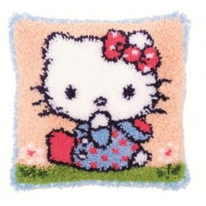 Hello Kitty Набор для вышивания подушки VERVACO