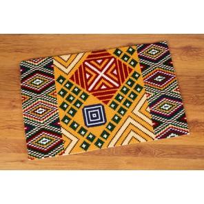 Этнический мотив II Набор для вышивания коврика VERVACO