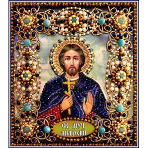 Святой Анатолий Набор для вышивания хрустальными бусинами СТУДИЯ ВЫШИВКИ