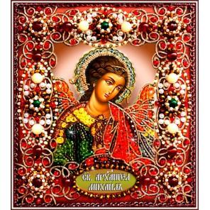Святой Архангел Михаил Набор для вышивания хрустальными бусинами СТУДИЯ ВЫШИВКИ