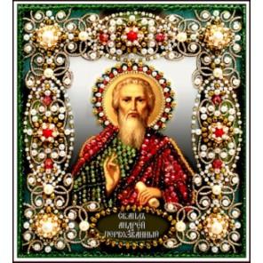 Святой Андрей Набор для вышивания хрустальными бусинами СТУДИЯ ВЫШИВКИ