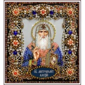 Святой Алексий Набор для вышивания хрустальными бусинами СТУДИЯ ВЫШИВКИ