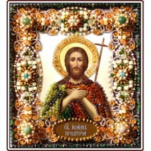 Святой Иоанн Предтеча Набор для вышивания хрустальными бусинами СТУДИЯ ВЫШИВКИ