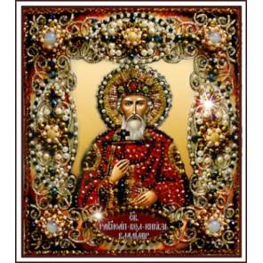 Святой Владимир Набор для вышивания хрустальными бусинами СТУДИЯ ВЫШИВКИ