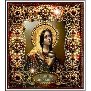 Святая Мария Магдалина Набор для вышивания хрустальными бусинами СТУДИЯ ВЫШИВКИ