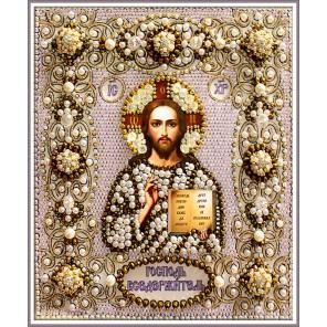 Господь Вседержитель Набор для вышивания хрустальными бусинами СТУДИЯ ВЫШИВКИ