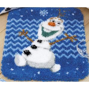 Олаф Disney Набор для вышивания коврика VERVACO