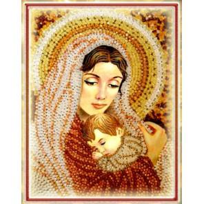 Дева Мария Набор для вышивания хрустальными бусинами СТУДИЯ ВЫШИВКИ