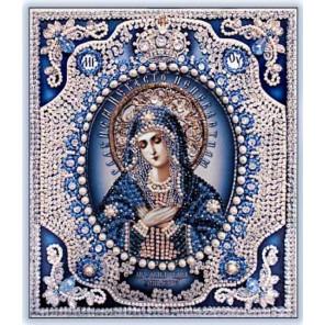 Богородица Умиление Набор для вышивания хрустальными бусинами СТУДИЯ ВЫШИВКИ