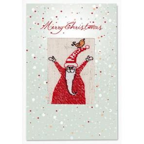 Санта Набор для изготовления открытки LUCA-S