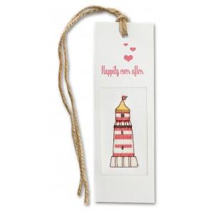 Happily ever after Набор для изготовления закладки с вышитым элементом LUCA-S