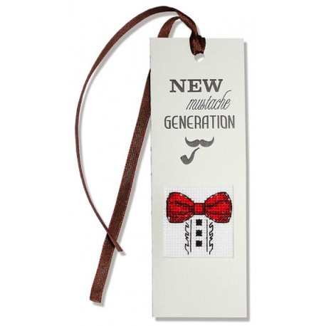 New Mustache G...r Набор для изготовления закладки с вышитым элементом LUCA-S