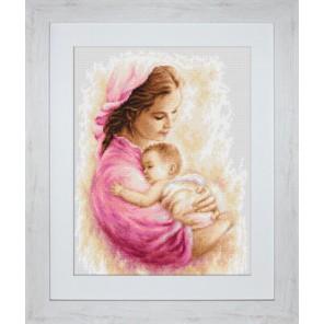 Мать и дитя Набор для вышивания LUCA-S