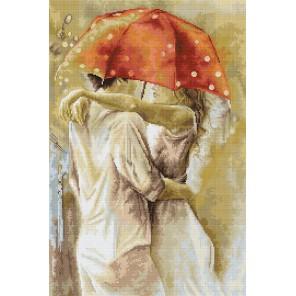 Под зонтом Набор для вышивания LUCA-S