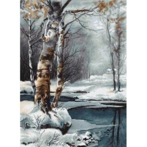 Зима Набор для вышивания LUCA-S