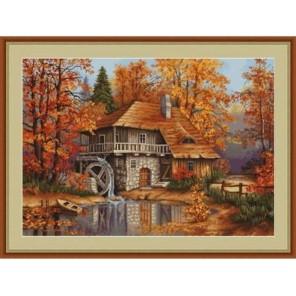 Осенний пейзаж Набор для вышивания LUCA-S