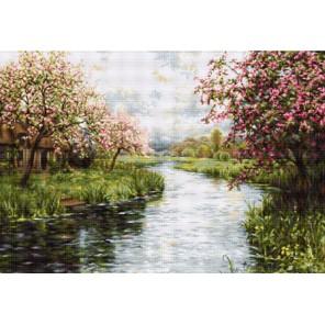 Весенний пейзаж Набор для вышивания LUCA-S
