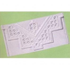 Хардангер Набор для вышивания конвертика в технике PERMIN
