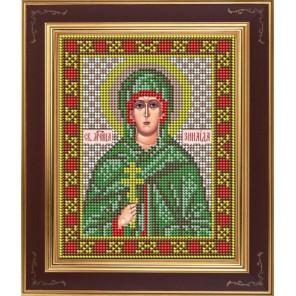 Святая мученица Зинаида Комплект для вышивания бисером Икона GALLA COLLECTION