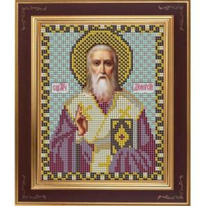 Св. Дионисий Комплект для вышивания бисером Икона GALLA COLLECTION
