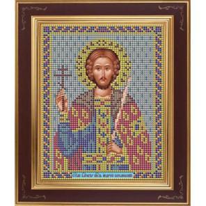 Андрей Боголюбский, великий князь Комплект для вышивания бисером Икона GALLA COLLECTION
