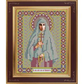 Св. Елизавета Комплект для вышивания бисером Икона GALLA COLLECTION