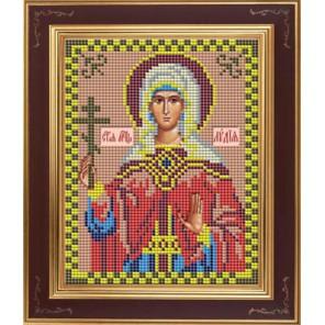 Св. Лидия Комплект для вышивания бисером Икона GALLA COLLECTION
