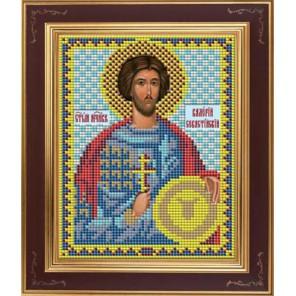 Св. Валерий Комплект для вышивания бисером Икона GALLA COLLECTION