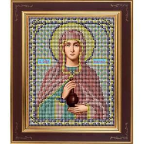 Св. Анастасия Комплект для вышивания бисером Икона GALLA COLLECTION