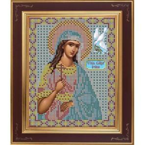Св. Ирина Комплект для вышивания бисером Икона GALLA COLLECTION