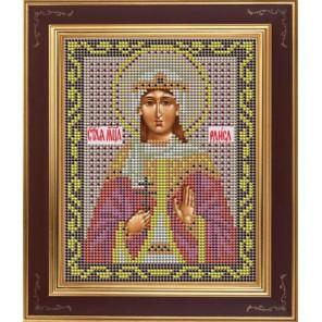 Св. Раиса Комплект для вышивания бисером Икона GALLA COLLECTION