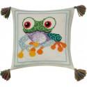 Лягушка Набор для вышивания подушки PERMIN