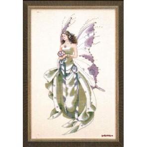 Июльская фея Схема для вышивания MIRABILIA