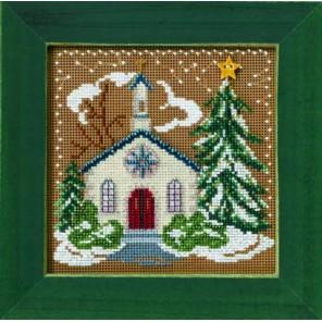 Деревенская церковь Набор для вышивания MILL HILL