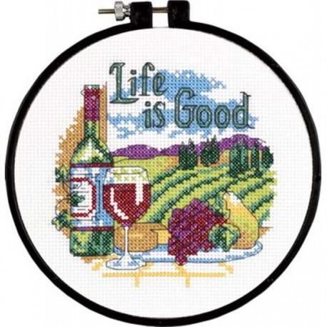 Жизнь прекрасна  72-73545   Набор для вышивания Dimensions ( Дименшенс )