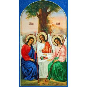 Святая троица Комплект для вышивания Икона ТМ РИСУЕМ ИГЛОЙ