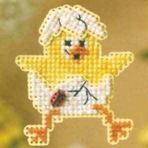 Цыпленок Набор для вышивания MILL HILL