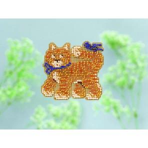 Котенок Набор для вышивания бисером MILL HILL