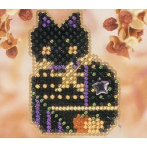 Котенок - бродяжка Набор для вышивания MILL HILL