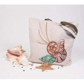 Шум прибоя Набор для шитья и вышивания - текстильная сумка МАТРЕНИН ПОСАД