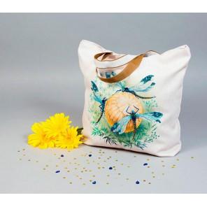 Танец стрекоз Набор для шитья и вышивания, текстильная сумка МАТРЕНИН ПОСАД