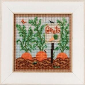 Морковный сад Набор для вышивания MILL HILL