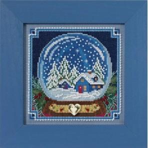 Снежный шар Набор для вышивания MILL HILL
