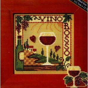 Красное вино Набор для вышивания MILL HILL