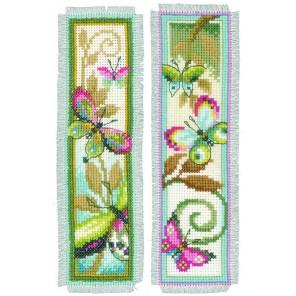 Декоративные бабочки Набор для вышивания закладки VERVACO