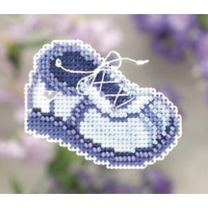 Голубой ботинок Набор для вышивания бисером MILL HILL