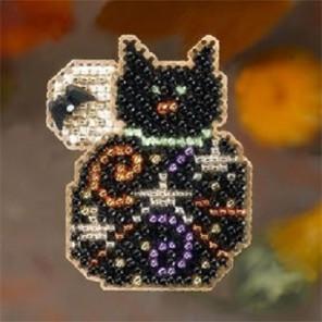 Волшебный котенок Набор для вышивания бисером MILL HILL