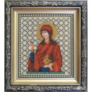 Святая равноапостольная Мария-Магдалина Наборы для вышивания бисером Икона Чаривна Мить